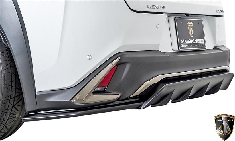 【M's】レクサス UX250h Fスポーツ (2018.11-) AIMGAIN SPORT エアロキット 3P // FRP 未塗装 エイムゲイン エアロ パーツ LEXUS UX_画像7