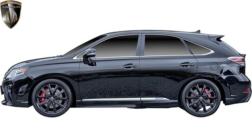 【M's】LEXUS 10系 RX 後期 RX450h RX350 RX270 (2012.4-2015.10) AIMGAIN 純VIP GT リヤゲートスポイラー // FRP エイムゲイン エアロ_画像7