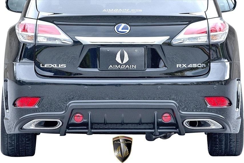 【M's】LEXUS 10系 RX 後期 RX450h RX350 RX270 (2012.4-2015.10) AIMGAIN 純VIP GT リヤゲートスポイラー // FRP エイムゲイン エアロ_画像4