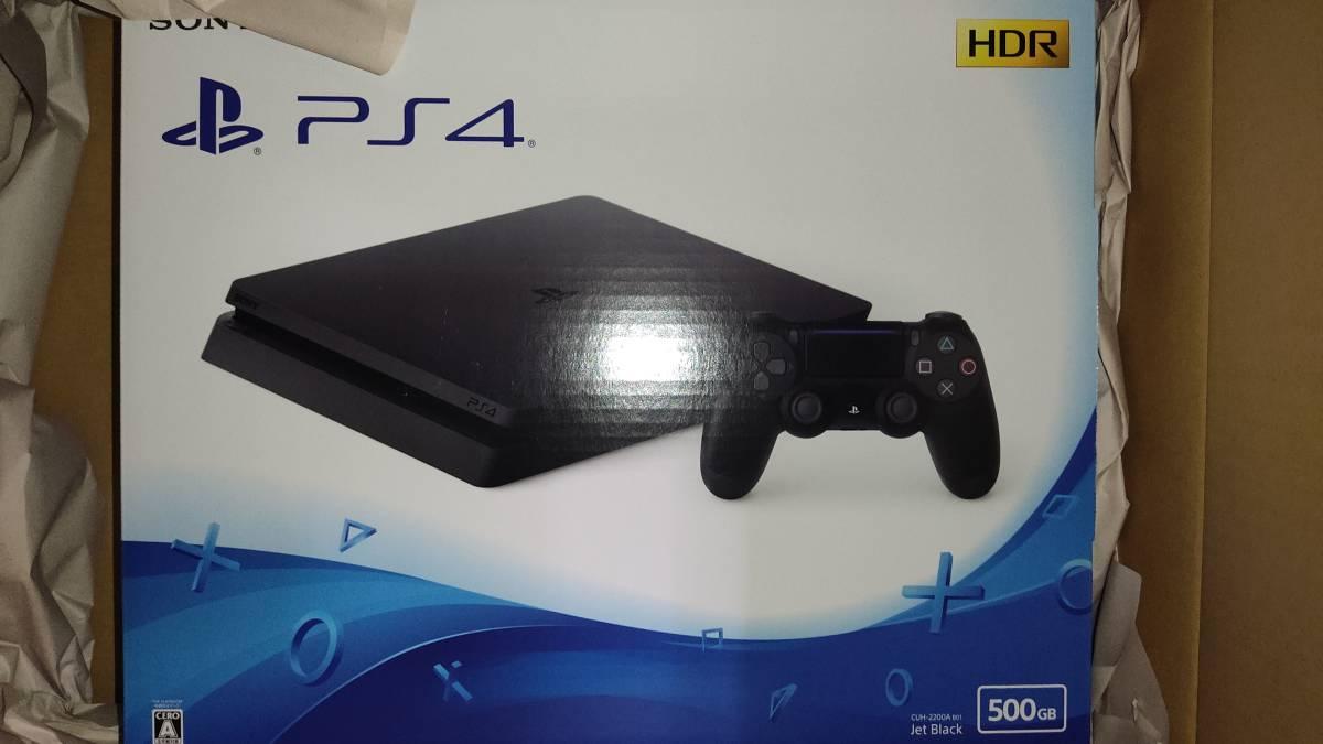 PlayStation(R)4 ジェット・ブラック 500GB CUH-2200AB01