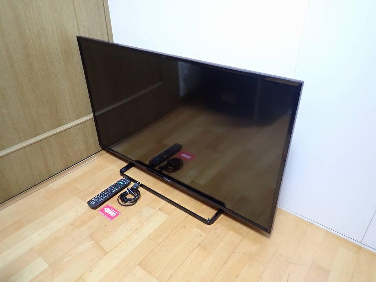 中古美品 液晶テレビ Panasonic VIERA TH-43E300 パナソニック ビエラ 43インチ 43型 2018年 B-CAS リモコン N20AYB 001091 埼玉県 川口市