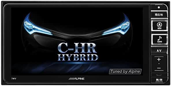 【新品】ALPINEアルパイン7WV-CHR トヨタC-HR 前期H28.12~R1.10 200mmワイド7型ナビ・フルセグTV・DVD再生・SD録音・Bluetooth【在庫有_オープニング画面は変更も可能!