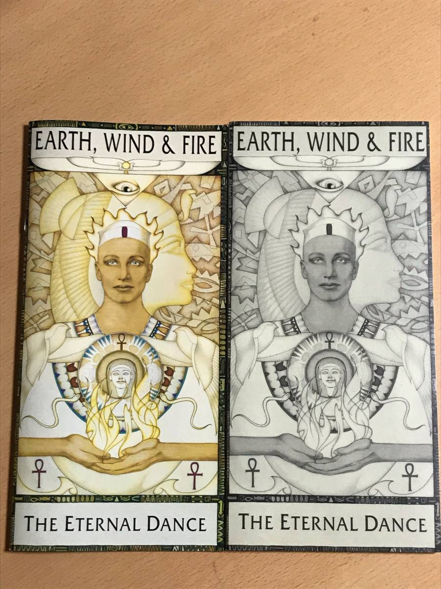 ■CD3枚組BOX アース・ウィンド・アンド・ファイアー / THE ETERNAL DANCE 送料込 EARTH,WIND & FIRE SRCS6555~7