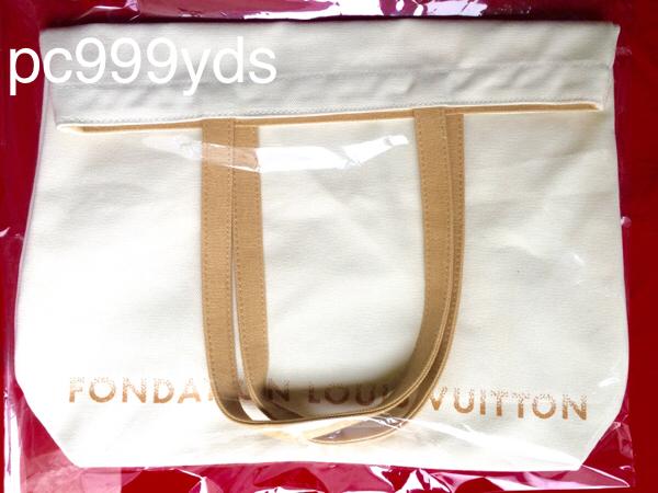 【未開封・新品】パリ限定 ルイヴィトン 美術館 トートバッグ 日本未入荷 LOUIS VUITTON ファンダシオン ホワイト _未開封品をお送りします