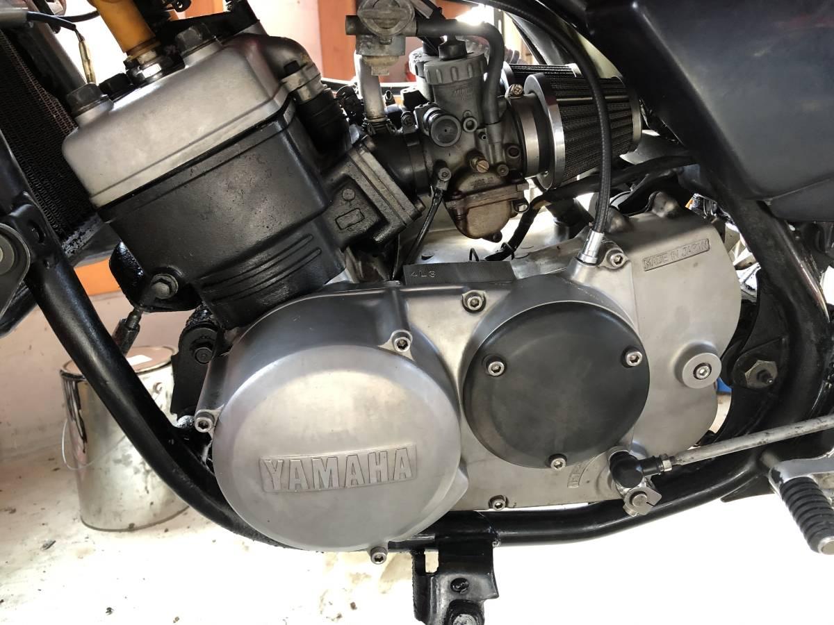 RZ250 RZ350 エンジン 部品取り エンジン始動確認可能です_画像8