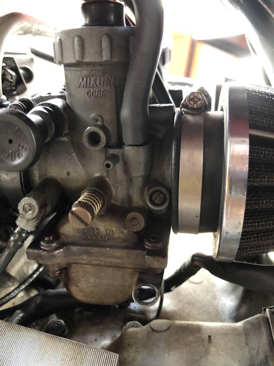 RZ250 RZ350 エンジン 部品取り エンジン始動確認可能です_画像6