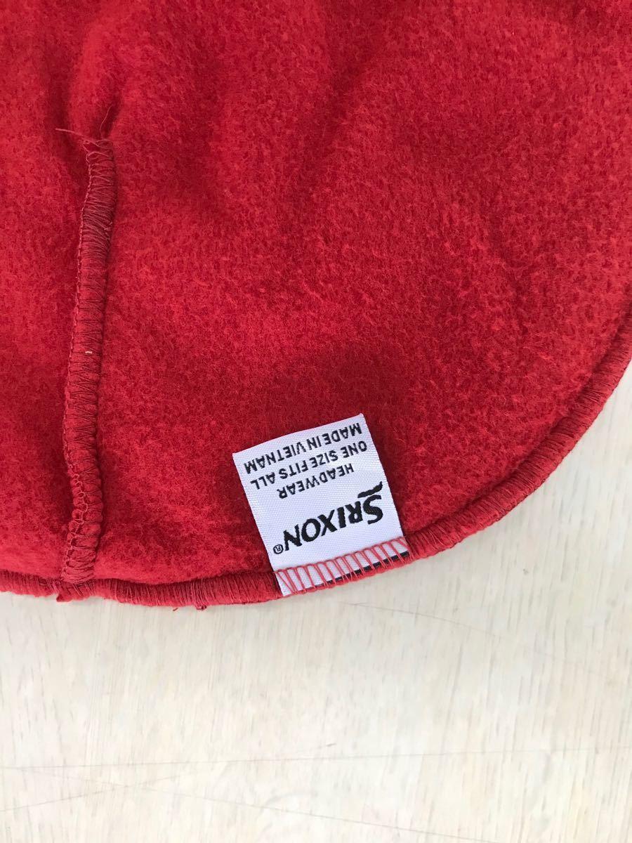 SRIXON  ニット帽 レッド