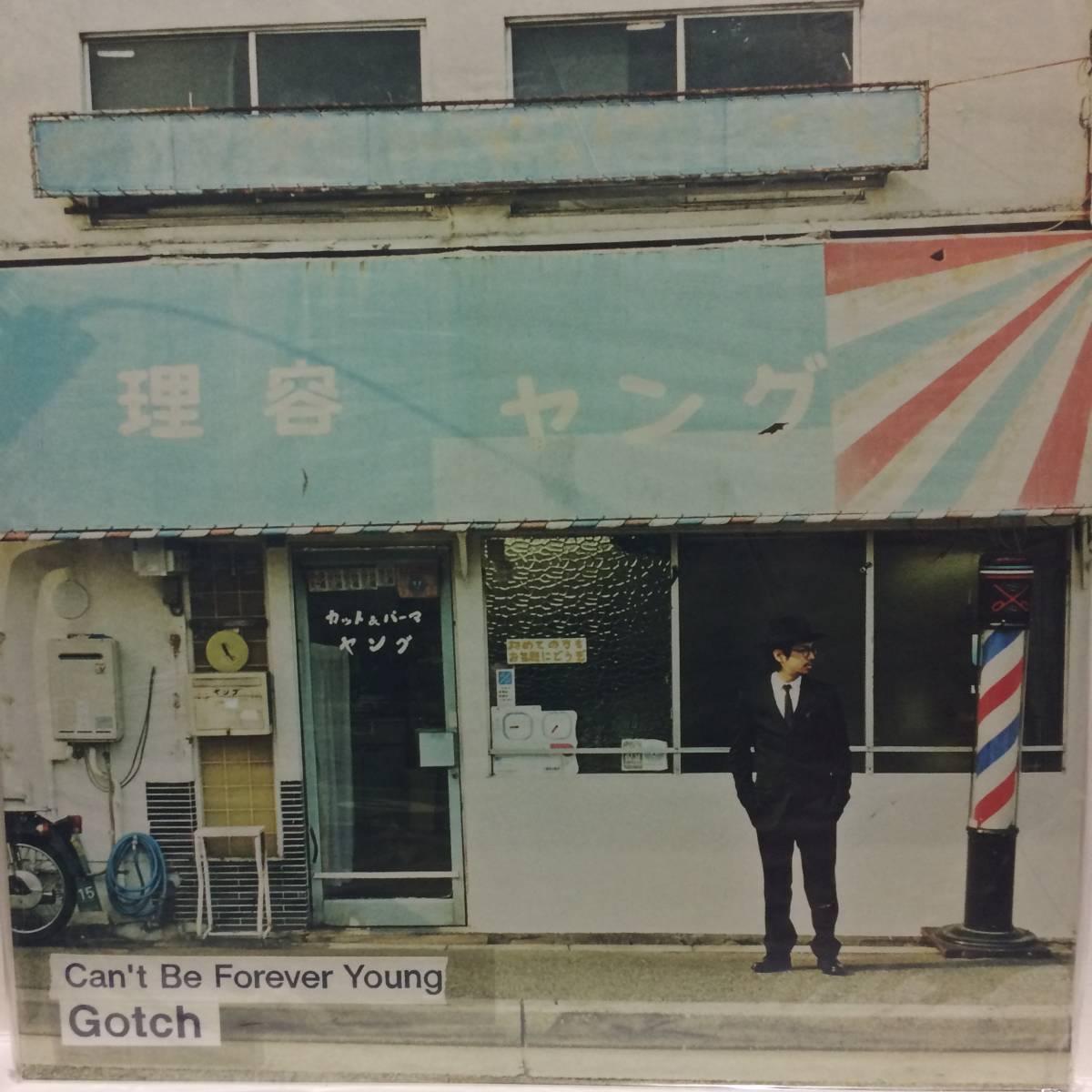 未再生 サイン Gotch Can't Be Forever Young 2LP CD ASIAN KUNG-FU GENERATION 後藤正文 レコード アナログ 2014 RSD 11a_画像1