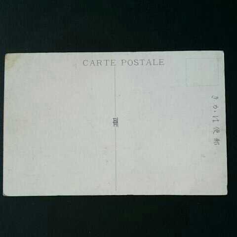 戦前絵葉書ポストカード375 神社仏閣 明治神宮中門と本殿_画像4