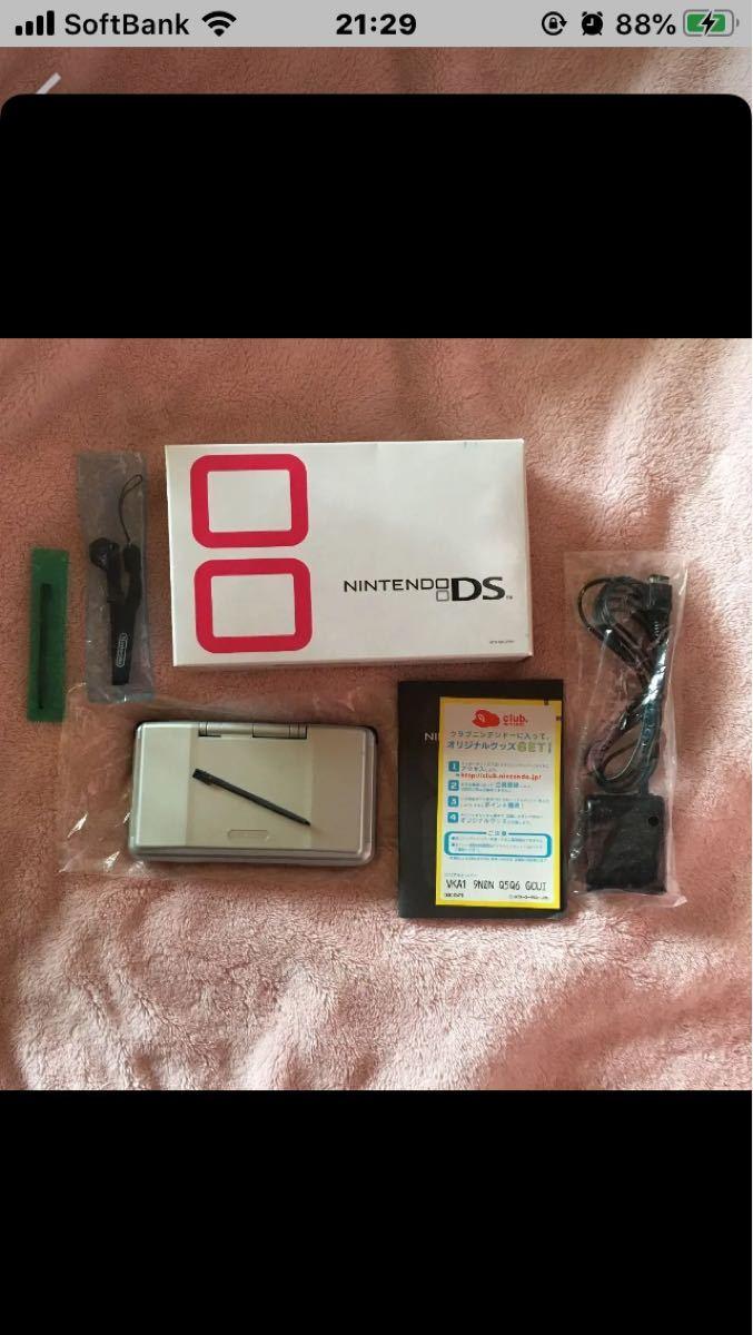 任天堂DS本体 初期 タッチペン2個付き 中古 説明文必ず読んで下さい