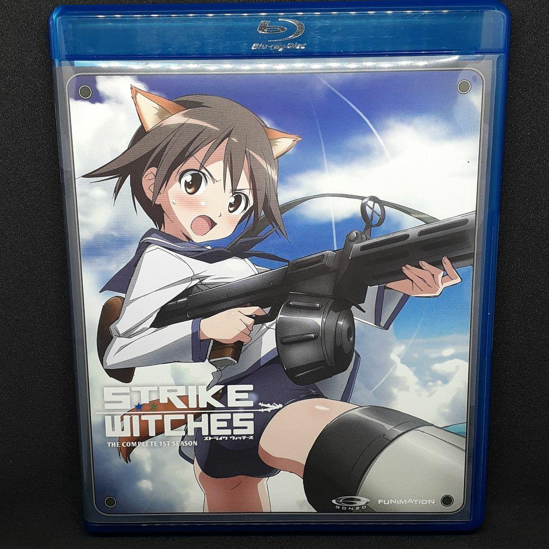 【北米版】ストライクウィッチーズ1期&2期 DVD&Blu-rayセット