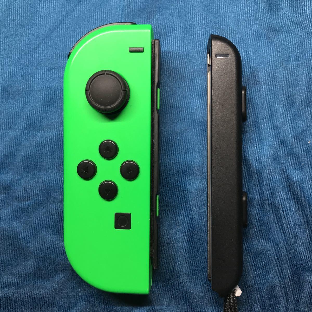 動作確認済み Nintendo Switch JOY-CON (L) ネオングリーン左 ニンテンドースイッチ
