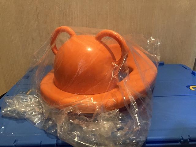 ★☆【308】赤ちゃん本舗 赤ちゃんトイレシート スラッシュオレンジ 洋式便座用 日本製 1.5才~☆★_画像2