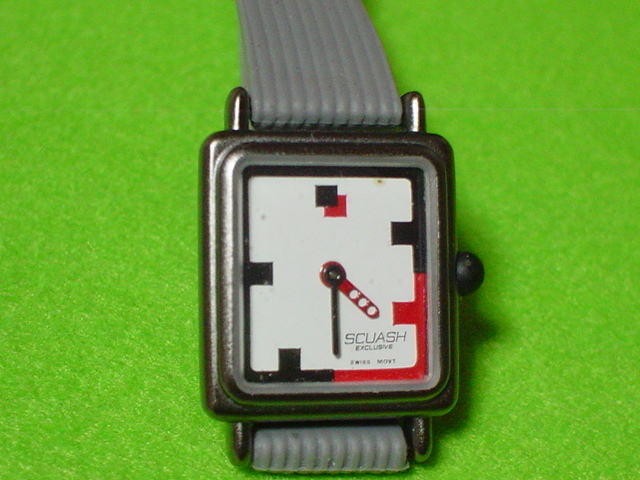 SCUASH SWISS 女性用腕時計 角型_画像1