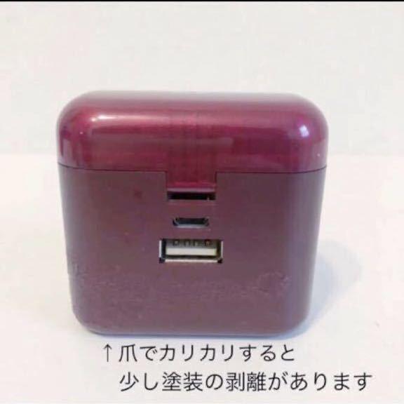 ワイヤレスイヤホン モバイルバッテリー 充電器 AVIOT 防水 Bluetooth 完全ワイヤレスイヤホン 高音質 イヤフォン_画像6
