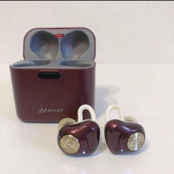 ワイヤレスイヤホン モバイルバッテリー 充電器 AVIOT 防水 Bluetooth 完全ワイヤレスイヤホン 高音質 イヤフォン_画像4