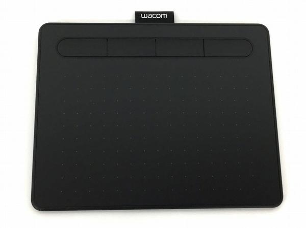 【1円】 wacom Intuos S ベーシック CTL-4100/K0 ペンタブレット ブラック 中古 T5226866