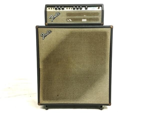 【引取限定】ジャンク Fender Bassman 70 キャビネット セット フェンダー 直 Y5301409_画像1