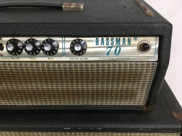 【引取限定】ジャンク Fender Bassman 70 キャビネット セット フェンダー 直 Y5301409_画像4