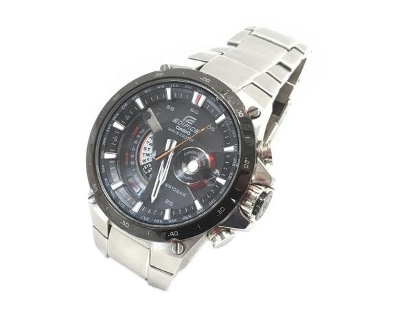 【1円】 CASIO 腕時計 EDIFICE エディフィス タフソーラー 電波時計 EQW-A1000 中古 W5284303