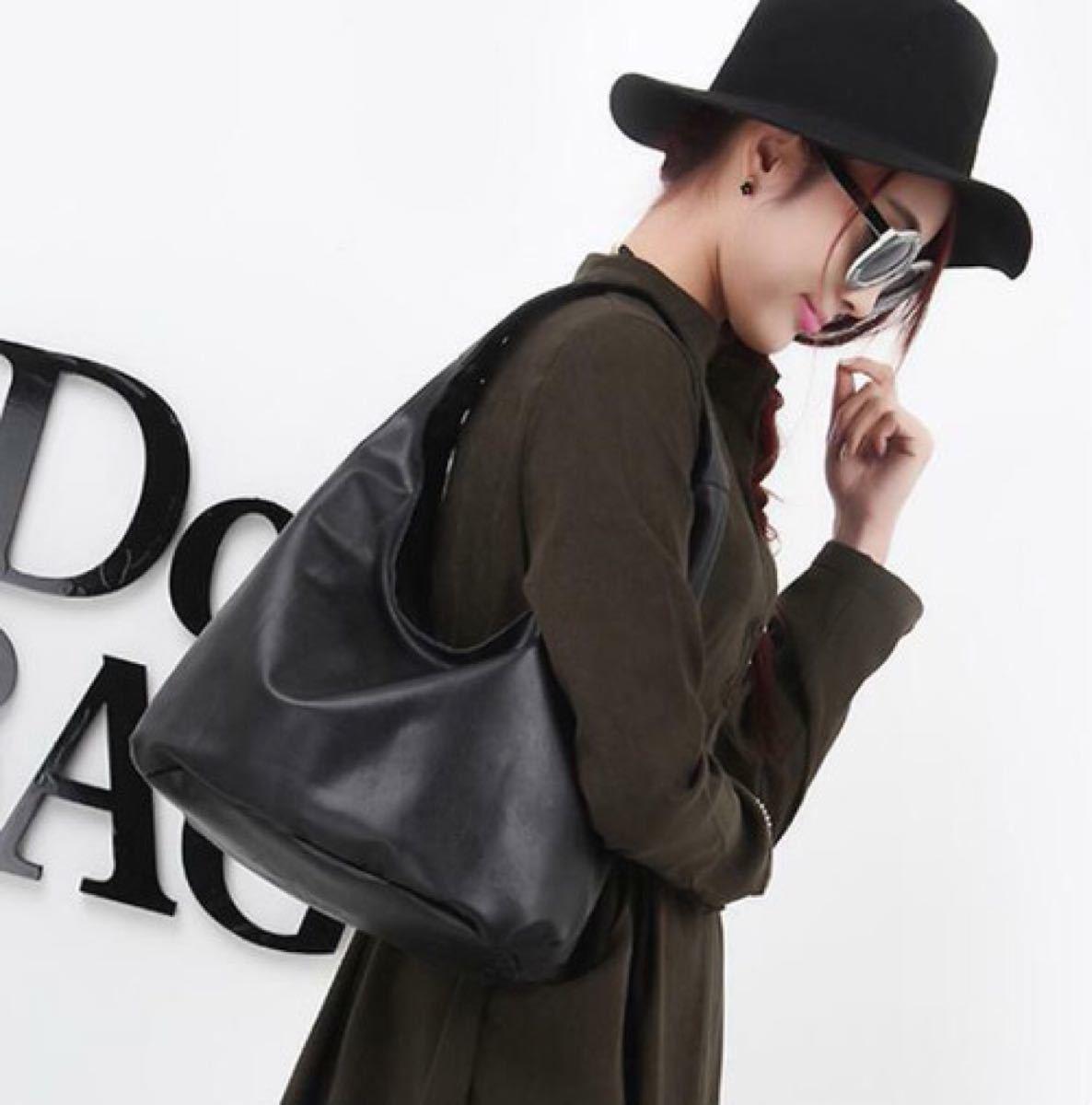 トートバッグ 手提げバッグ ショルダーバッグ レディース 高品質レザー 黒 鞄