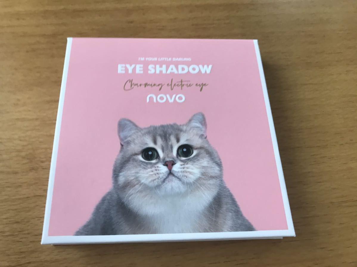 novo アイシャドウパレット 可愛い猫 9色
