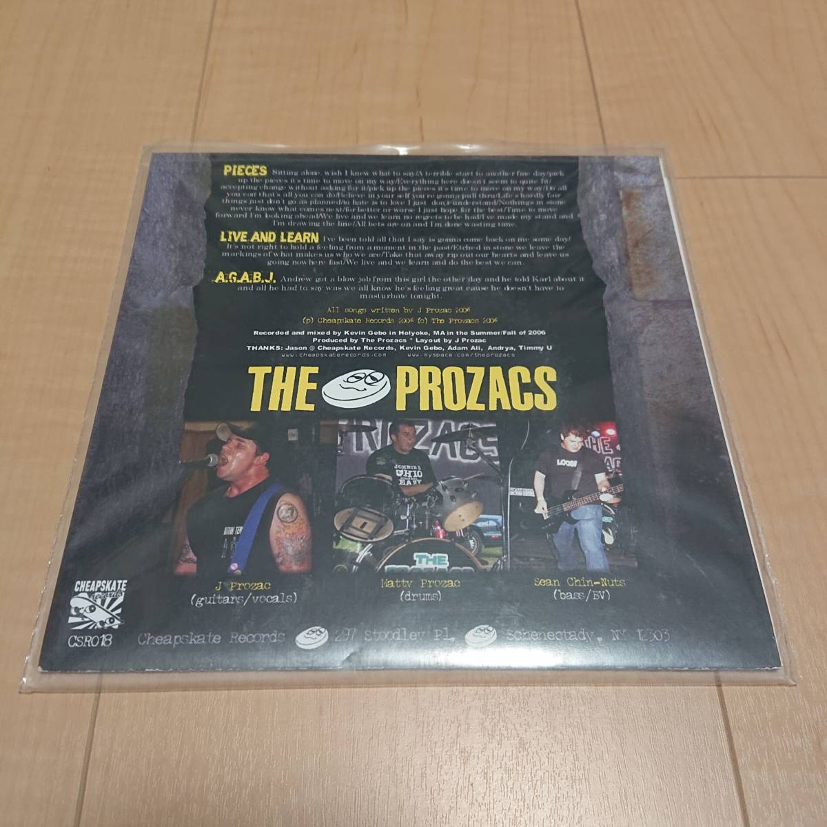 【The Prozacs - Pieces】grandprixx queers screeching weasel pop punk