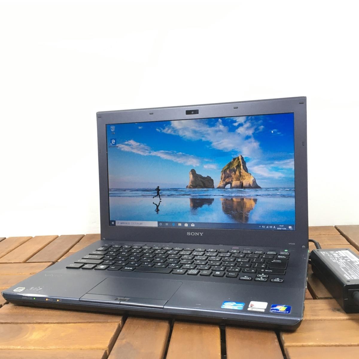 1円~【グラボ搭載】Windows10/Webカメラ搭載!【SONY ソニー/VAIO PCG-4121GN】Core i3-2350M/メモリ4GB/HDD320GB【ジャンク】_画像1