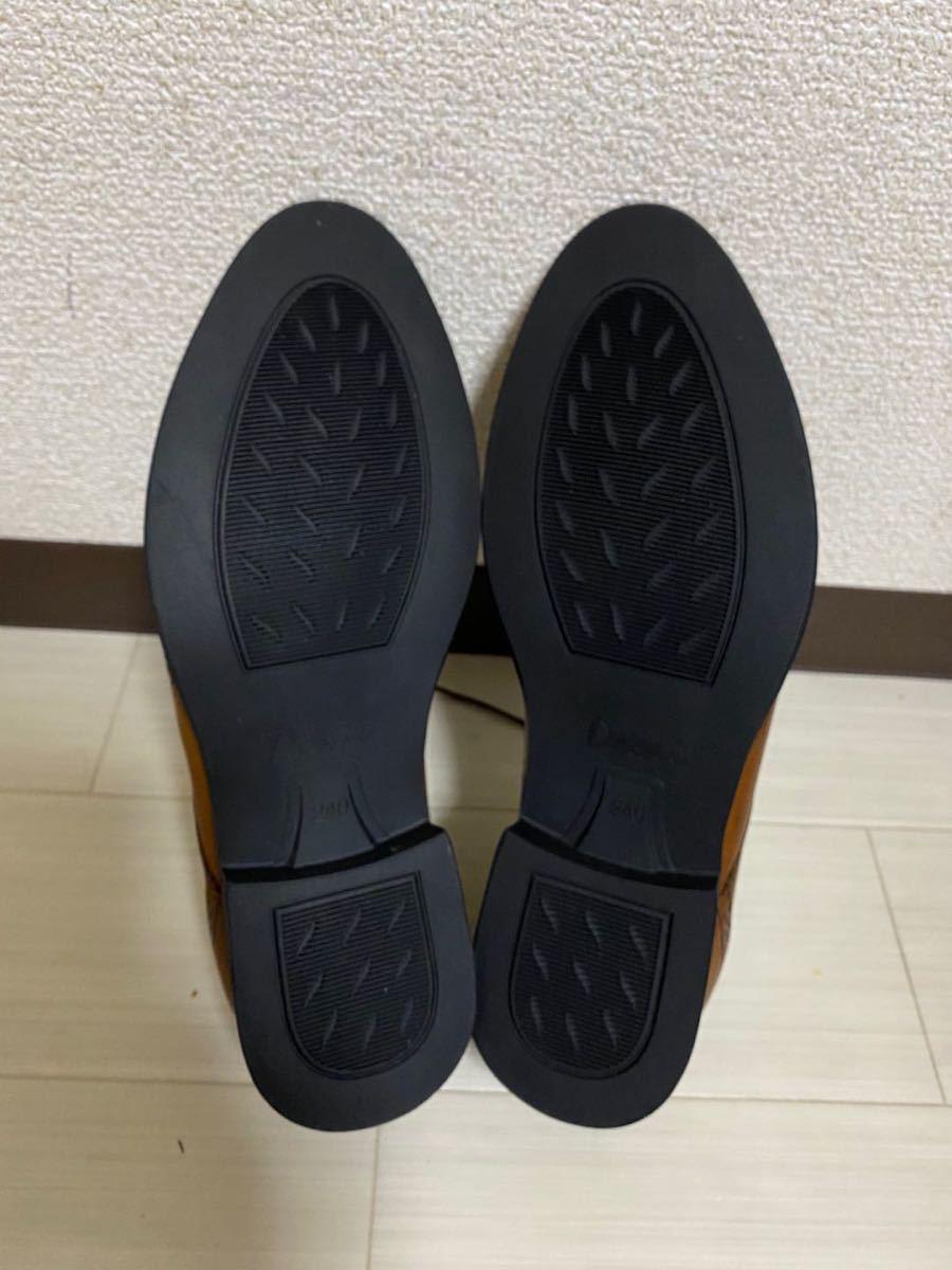 ビジネスシューズ 紳士靴 メンズ 本革 ストレートチップ 24cm