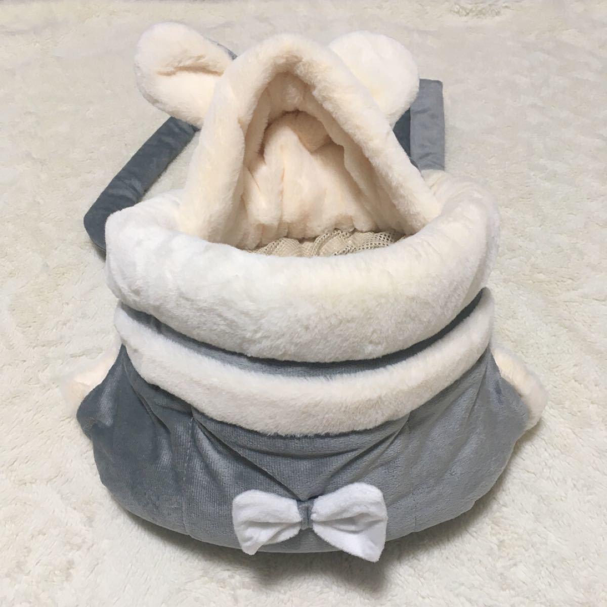 ペット用 リュックサック ペットキャリー 猫 キャリケース 冬 暖かい もこもこ