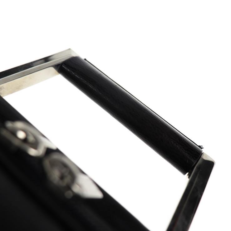 美品 Dunhill ダンヒル ブリーフケース ビジネスバッグ PVC ブラック系 ショルダー 2way【本物保証】_画像5