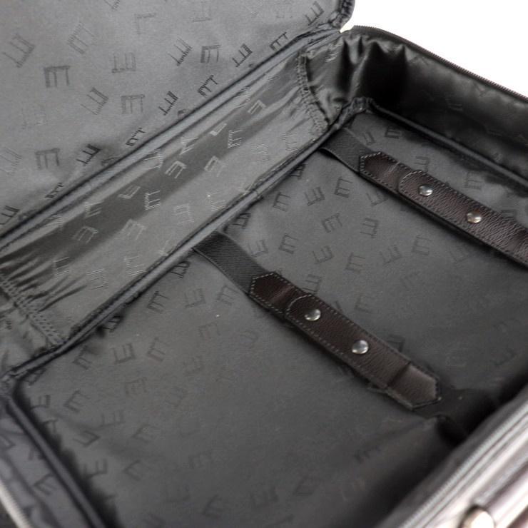美品 Dunhill ダンヒル ブリーフケース ビジネスバッグ PVC ブラック系 ショルダー 2way【本物保証】_画像9