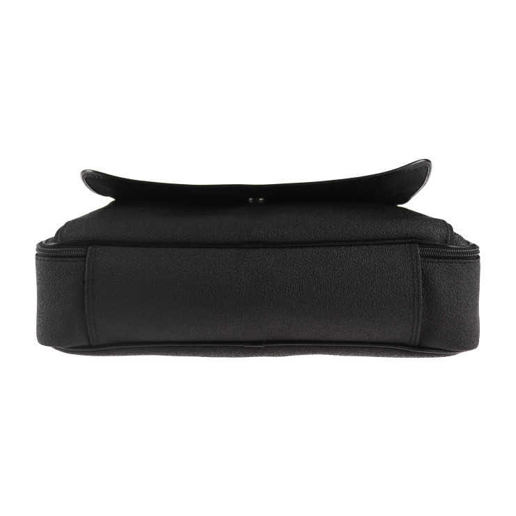 美品 Dunhill ダンヒル ブリーフケース ビジネスバッグ PVC ブラック系 ショルダー 2way【本物保証】_画像4
