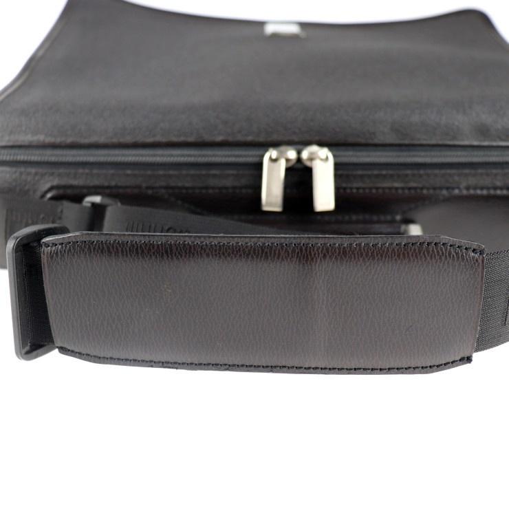 美品 Dunhill ダンヒル ブリーフケース ビジネスバッグ PVC ブラック系 ショルダー 2way【本物保証】_画像6