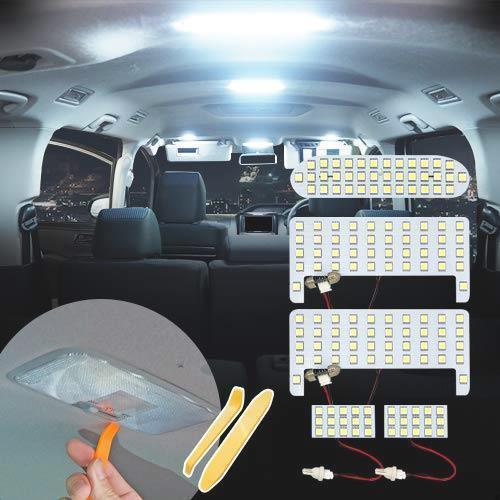 即決!新品- トヨタ ヴォクシー80 系 ノア80系 前期 後期 LED ルームランプ 5点フルセット エスクァイア ZWR80 ZRR8# 専用設計 室内灯_画像1