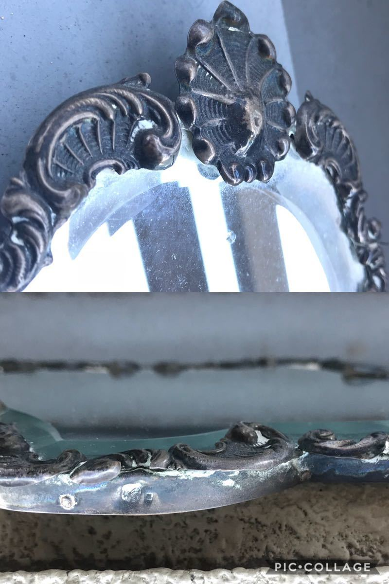 00s 10s 20s アンティーク ミラー スタンドミラー(ジャパンカラー メタルボックス BOX ビンテージ インダストリアル ランプ ハンガーラック_画像6