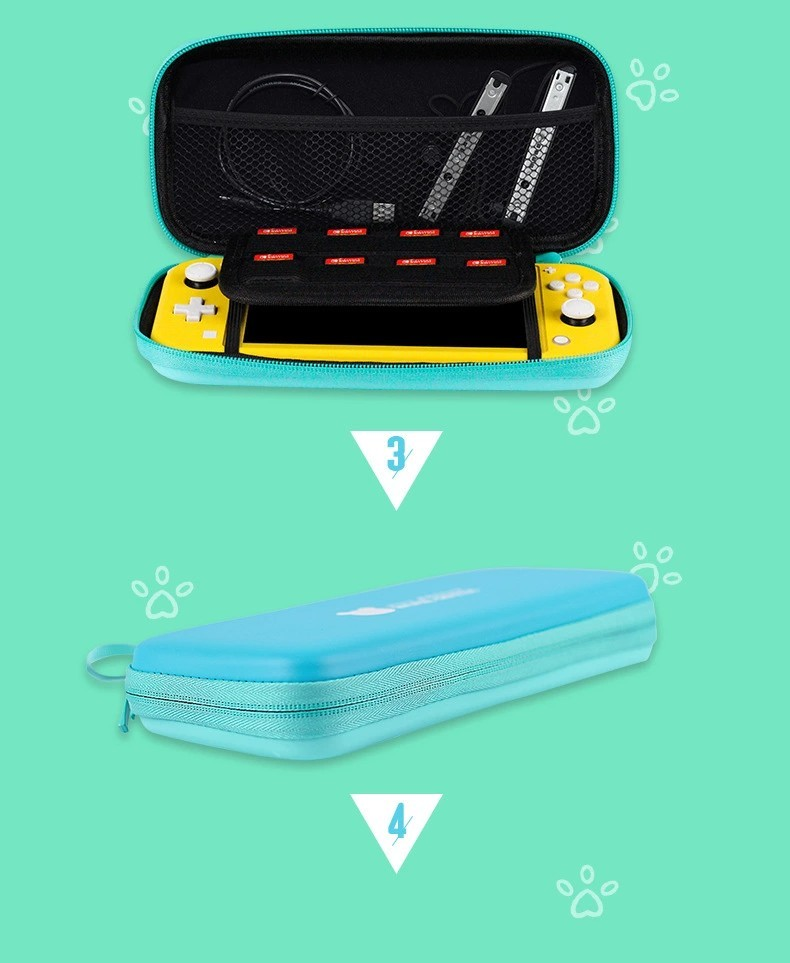 スイッチ(switch Lite)用 ケース どうぶつの森カラー