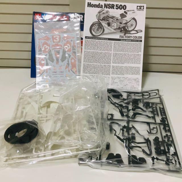 タミヤ模型 オートバイシリーズ ホンダ NSR500 ファクトリーカラー 1/12 HONDA NSR500 FACTORY COLOR プラモデル 未組立 TAMIYA_画像2