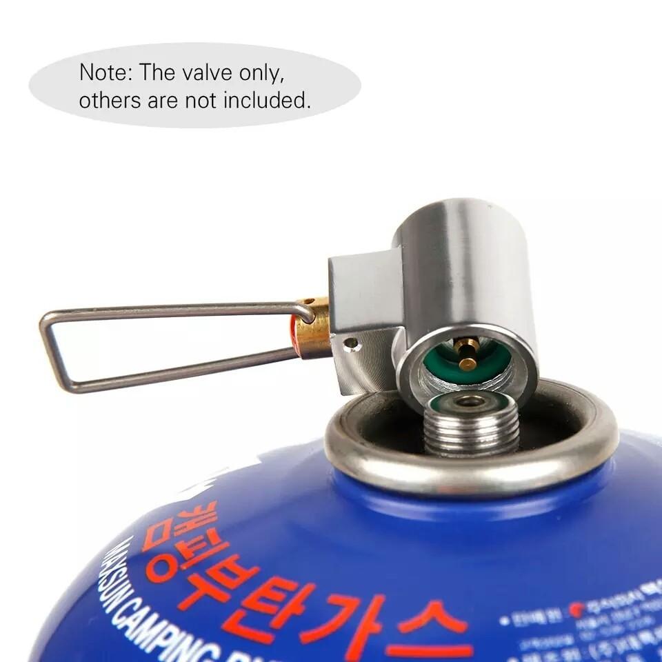 ガスリフィル アダプター ガスコンバータ 詰め替え ガスバーナー ▽△◎