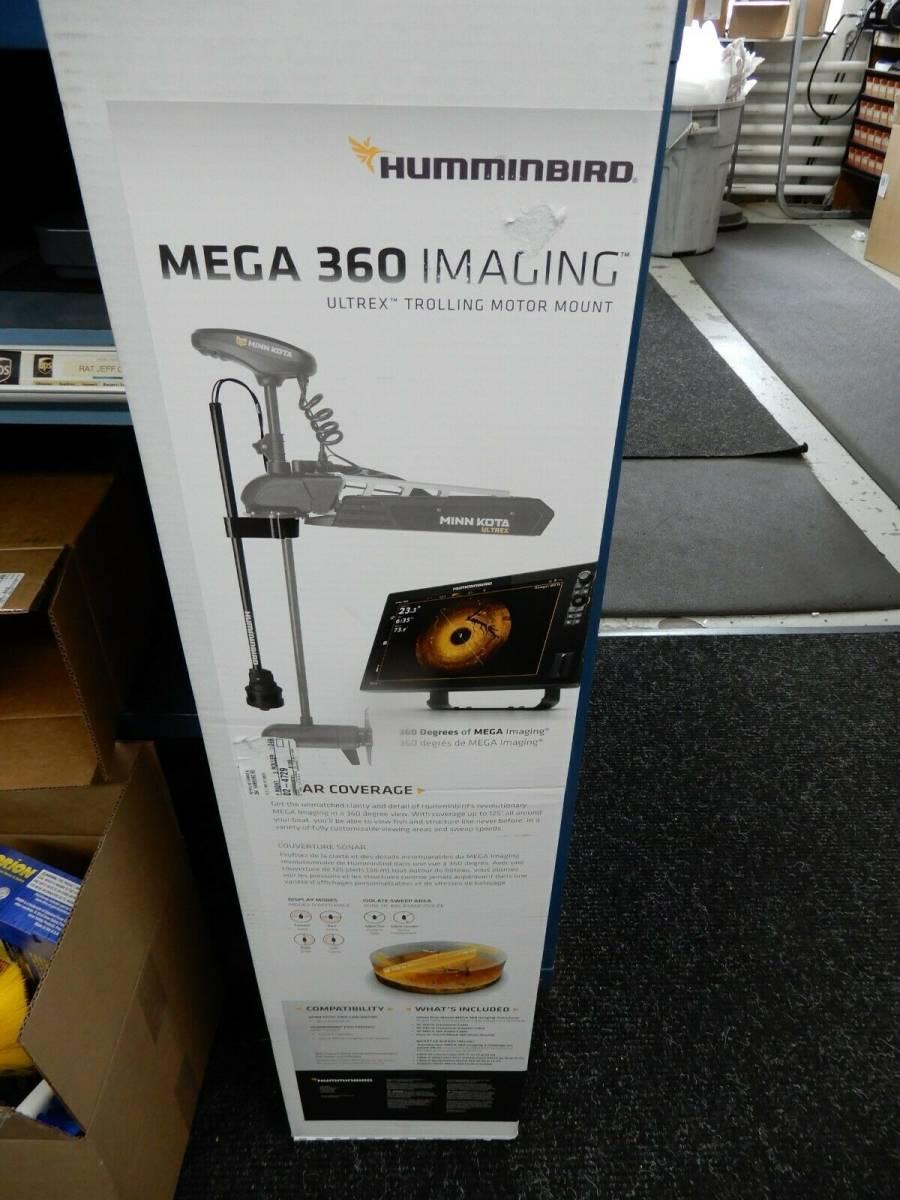 「新品 ハミンバード HUMMINBIRD メガ 360° イメージ Ultrex用 ( mega 360 フォルトレックス ウルトレックス ミンコタ 360」の画像1