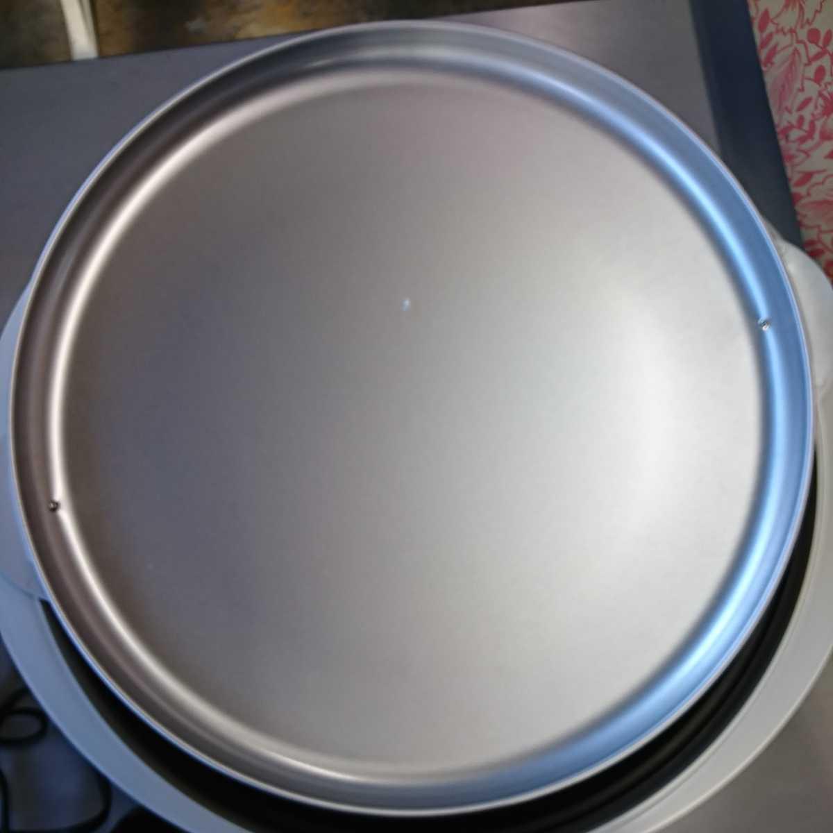 家電3】MITSUBISHI 三菱 ホットプレート HL-B20 EG ユーログレー グレー 調理器具 【通電確認済】お好み焼き 焼肉 焼物 焼そば_画像7