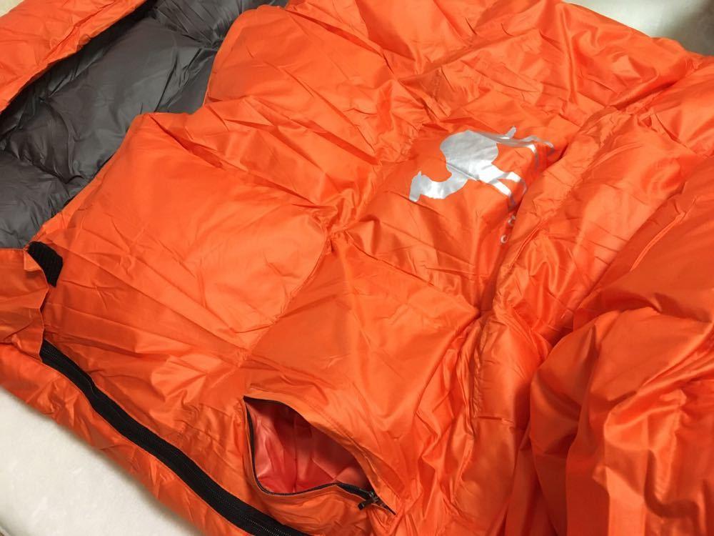 3個セット 羽毛 寝袋 ダウン シュラフ オールシーズン ふかふか 封筒型 抗菌 丸洗い コンパクト 防災 アウトドア キャンプ 登山 車中泊
