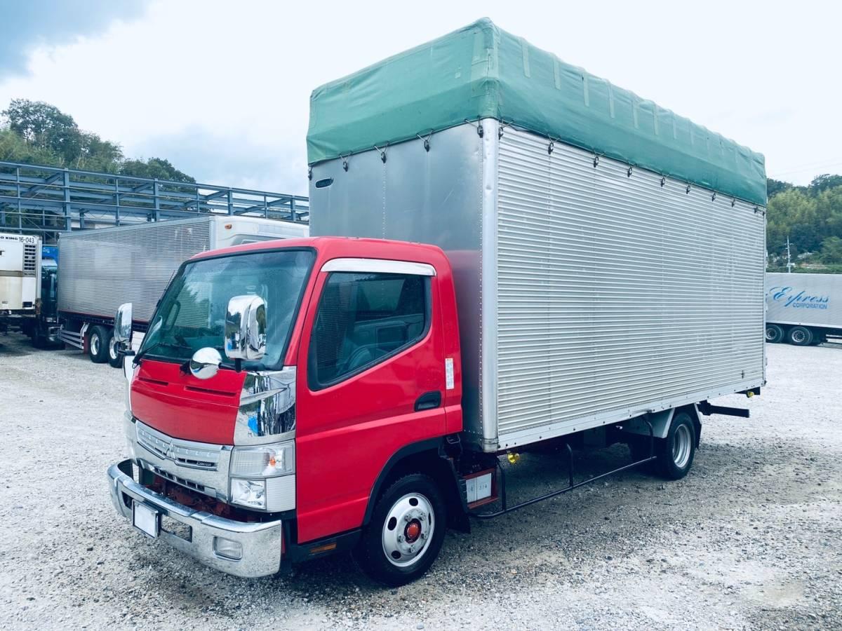 「内高283cm★H26年式キャンターオープントップ★スチロール輸送車」の画像3
