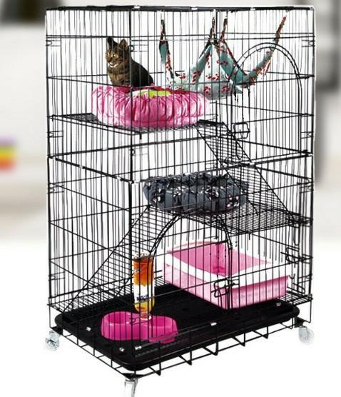 格安 大型 猫ゲージ 猫ケージ ペットフェンス サークル 柵  新品