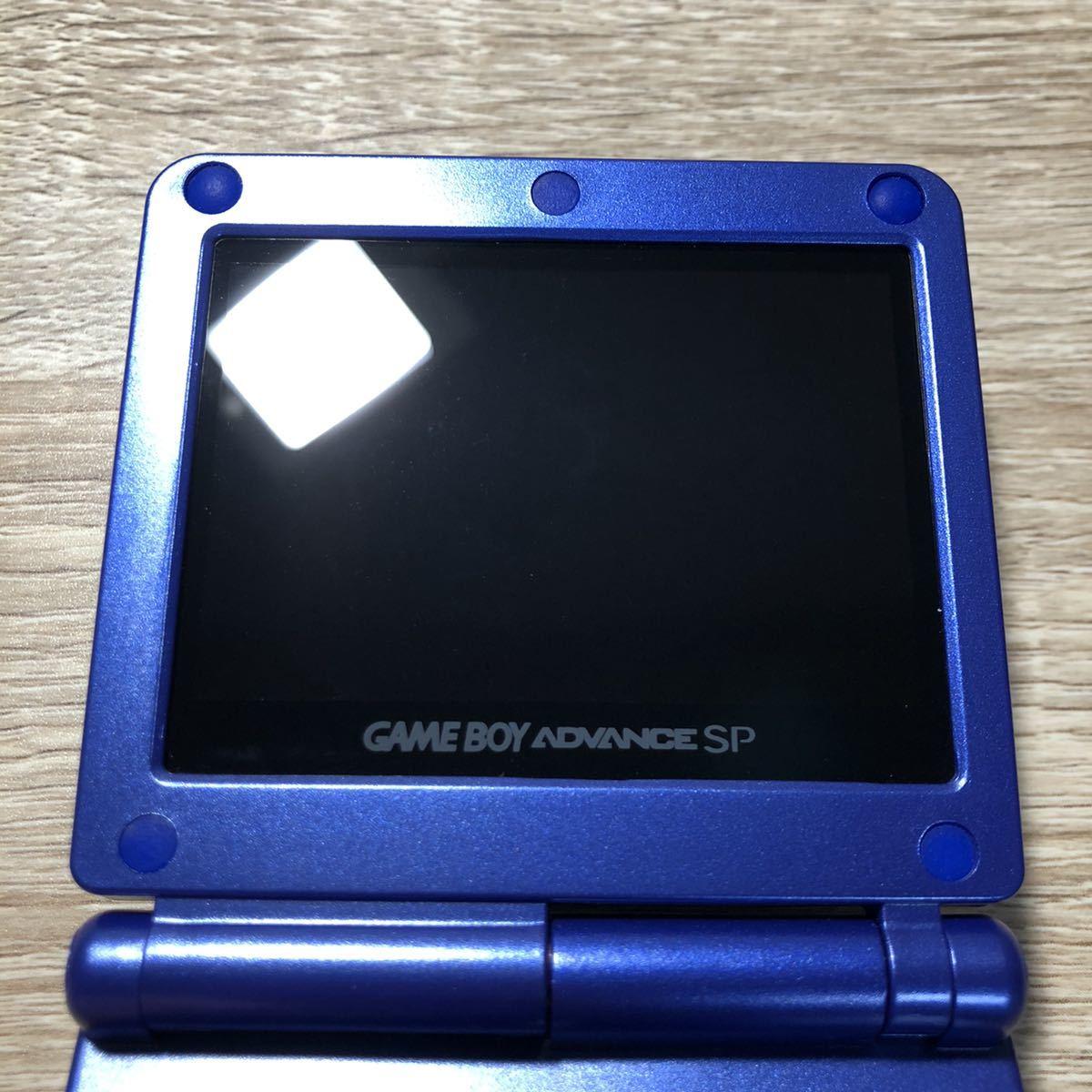 任天堂 Nintendo ゲームボーイアドバンス SP カイオーガ gameboy advance GBA 本体 IPS V3 バックライト仕様 173