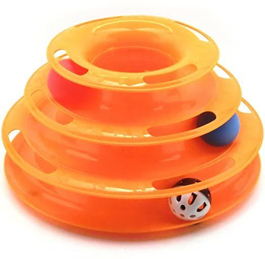 猫 おもちゃ 遊び ボール 鈴 入り 鈴音 運動不足 ストレス 解消 ペット用品 オレンジ