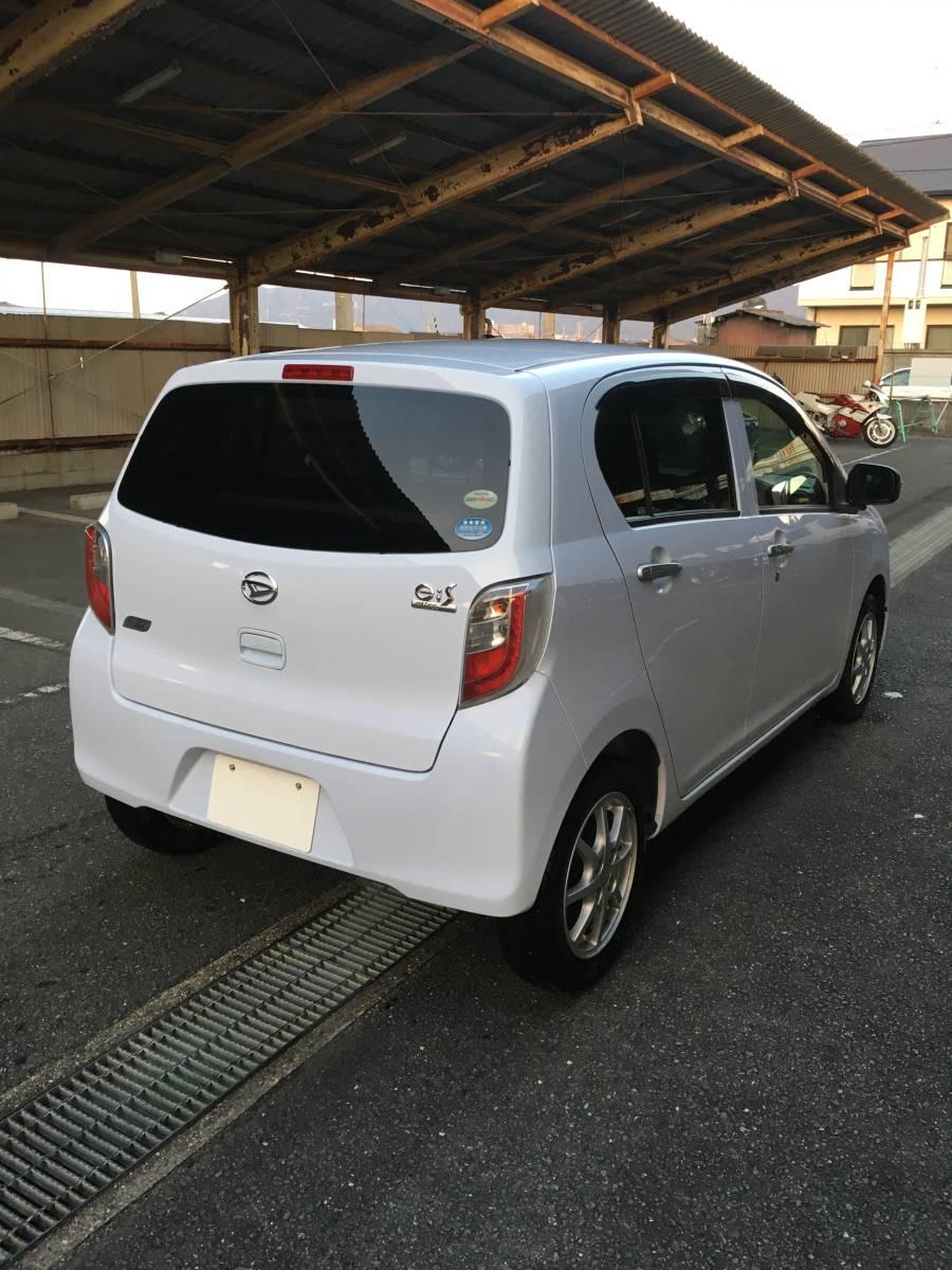 「H24 ミライース G ワンオーナー エコアイドル 車検2年付き ETC アルミ CD」の画像2