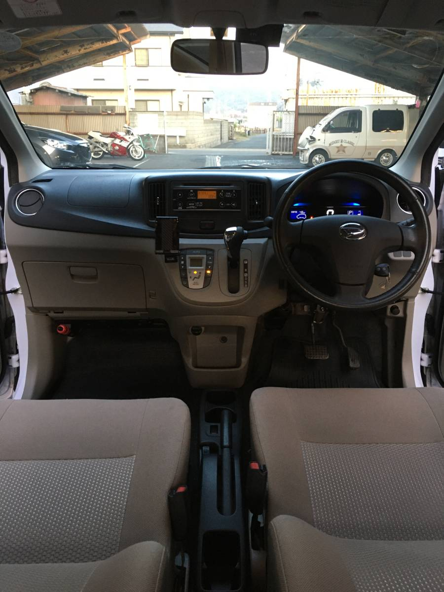 「H24 ミライース G ワンオーナー エコアイドル 車検2年付き ETC アルミ CD」の画像3