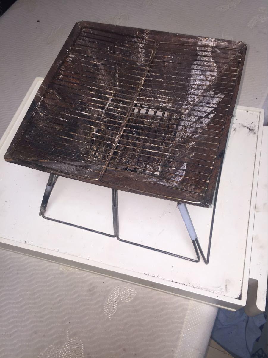Kaliliバーベキューコンロ焚き火台,折りたたみ式.軽量、収納袋入!