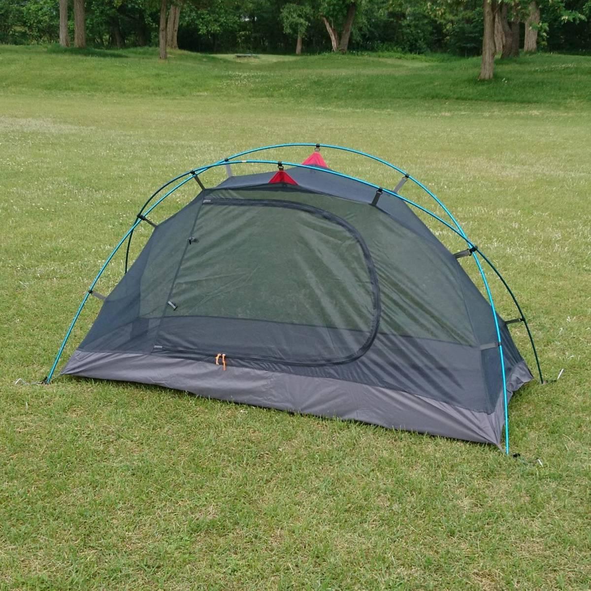 新品未開封 送料無料 アウトドア キャンプ テント BUNDOK バンドック ソロドーム 1 SOLODOME1 ツーリングテント ソロキャンプ
